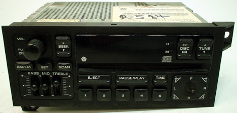 1991 dodge dakota wiring diagram 1997 2000    dodge    caravan factory am fm radio cd player r 1369  1997 2000    dodge    caravan factory am fm radio cd player r 1369