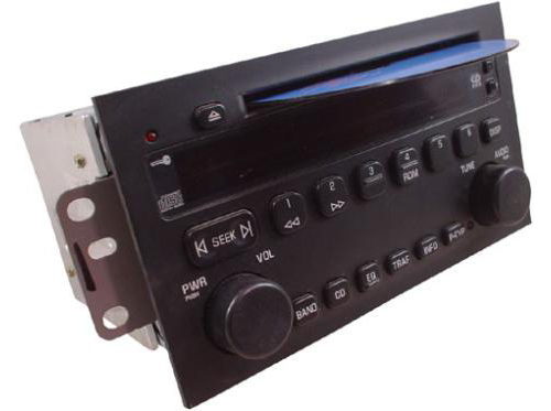 Factory-Stereo-R-1454-detailed-image-1 Buick Rendezvous Radio Wiring on satellite radio, 3500 v6 engine, secret compartments, remove liner, fancy wheels, ver escape del motor, pickup truck, police cars,