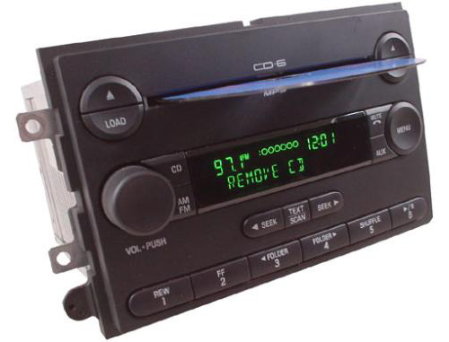 2007 Ford Fusion Oem Factory Stereo 6 Disc Cd Player Radio R1476rhhifisoundconnection: 2007 Ford Fusion Factory Satellite Radio At Gmaili.net