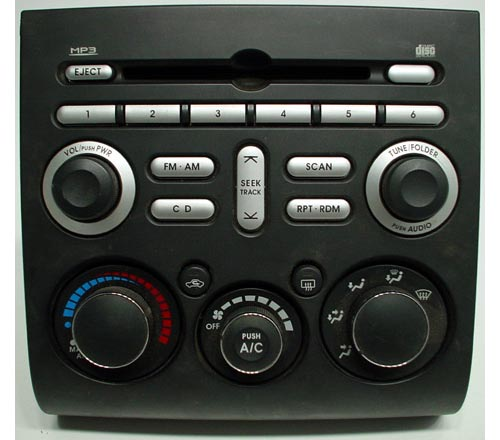 2006 2008 mitsubishi eclipse factory mp3 cd player radio. Black Bedroom Furniture Sets. Home Design Ideas