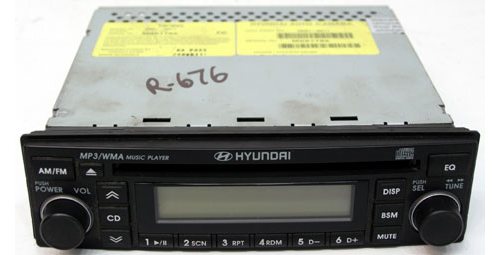 2007 2010 hyundai accent factory am fm radio cd mp3 player r 1537 rh hifisoundconnection com