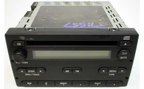 20042005 Ford Ranger Factory Amfm Radio Cd Player R16393rhhifisoundconnection: 2004 Ford Ranger Radio With Aux At Gmaili.net