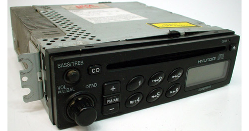 1999-2001 Hyundai Sonata Factory Receiver AM FM Radio CD Player