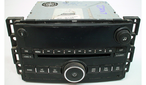 2005-2007 Buick Allure Factory AM/FM Radio 6 Disc CD Player