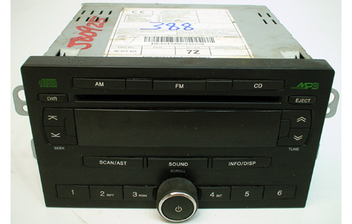 Compatible with 2006 Chevrolet Optra Factory AM/FM Radio Cassette CD MP3 Player