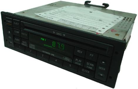 Factory Stereo R 1845 2 detailed image 1 1995 1998 ford windstar factory am fm radio cd player r 1845 2  at panicattacktreatment.co