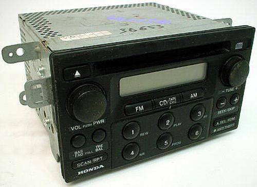 19982000 Honda Accord Factory Stereo Amfm Cd Player Radio R1969rhhifisoundconnection: 2000 Honda Accord Radio At Gmaili.net