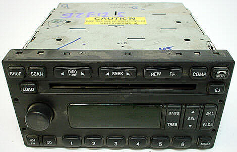 2002-2004 Ford F-350 Factory Stereo 6 Disc CD Changer Radio