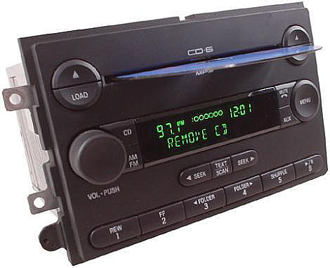 2005-2006 Ford F-150 Factory 6 Disc Changer CD Player Radio