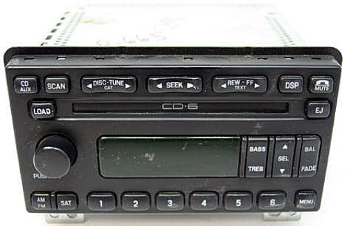 2005 ford explorer factory 6 disc changer cd player radio. Black Bedroom Furniture Sets. Home Design Ideas
