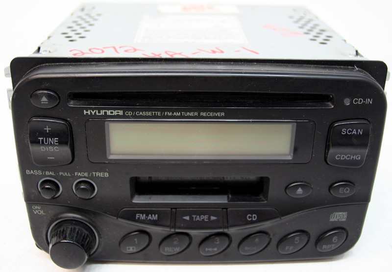 1999-2001 Hyundai Sonata Factory Oem Tape Cd Player Radio
