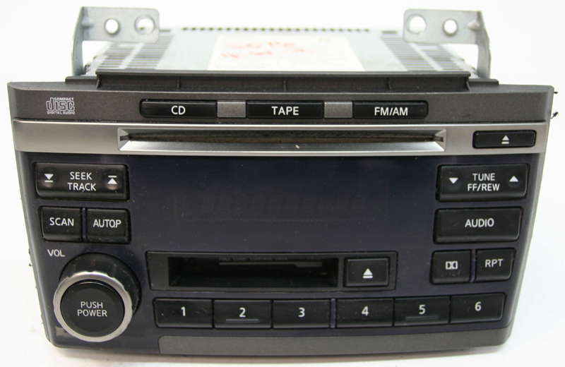 2002-2003 Nissan Maxima Factory Tape CD Player OEM Radio
