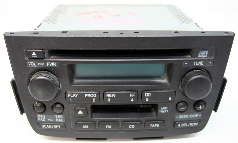 2001-2004 Acura MDX Factory Stereo Tape CD Player Radio - R-2095