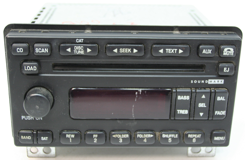 20032004 Lincoln Aviator Factory Stereo 6 Disc Cd Changer Radio R Rhhifisoundconnection: 2004 Lincoln Aviator Radio Parts At Gmaili.net