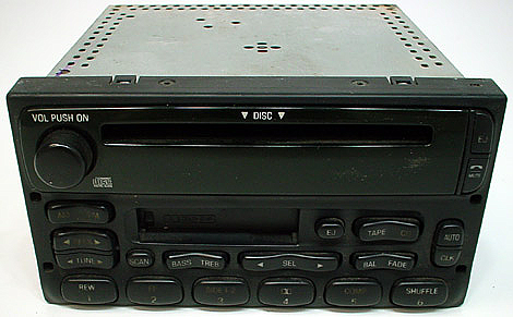ford explorer factory mach tape cd player radio