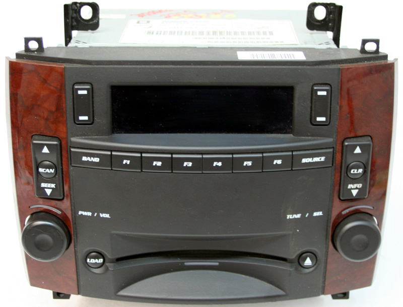 2006 Cadillac SRX Factory Stereo 6 Disc Changer CD Player OEM Radio