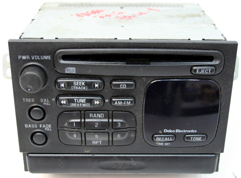 19981999 Chevy Tracker Factory Amfm Stereo Cd Player Radio R22124rhhifisoundconnection: Geo Tracker Radio At Gmaili.net