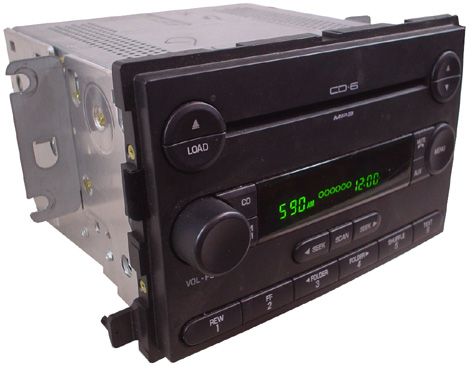 2006-2007 Ford Freestar 6 Disc Changer Stereo CD Player Radio