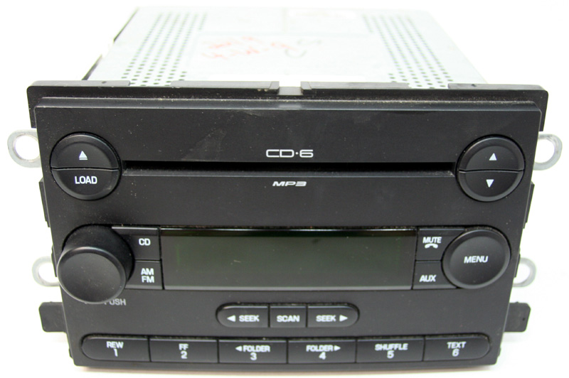 2007 mercury montego factory 6 disc changer stereo mp3 cd player radio r 2219 1