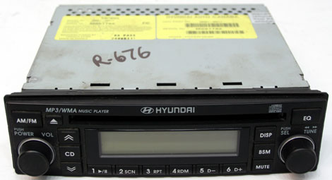 2002 2005 hyundai sonata factory mp3 cd player oem canada. Black Bedroom Furniture Sets. Home Design Ideas