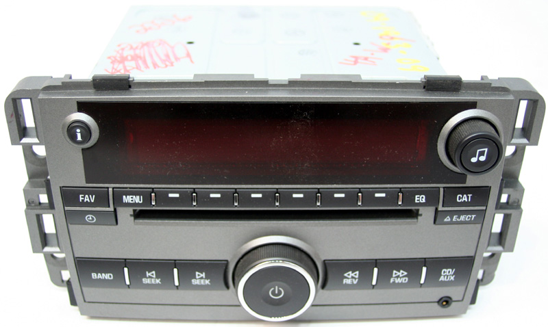 2009 saturn vue factory stereo mp3 cd player radio r 2226. Black Bedroom Furniture Sets. Home Design Ideas