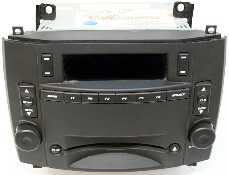 2005-2006 Cadillac CTS Factory AM/FM Stereo CD Player ...