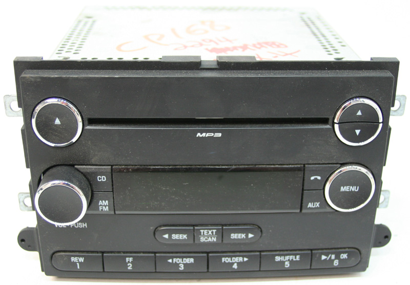 Factory Stereo R 2294 detailed image 1 2008 2010 ford edge factory stereo mp3 aux cd player oem radio 2008 ford edge stereo wiring harness at gsmx.co