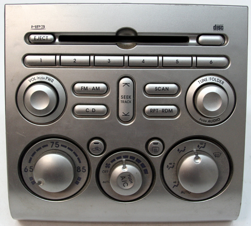 2006 2008 mitsubishi eclipse factory mp3 cd player oem. Black Bedroom Furniture Sets. Home Design Ideas