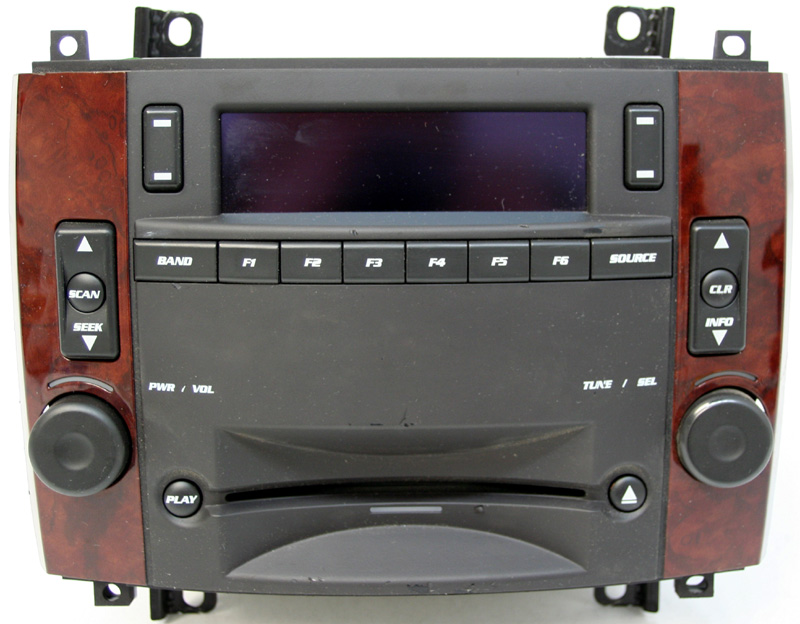 2005 2006 cadillac srx factory am fm stereo cd player radio 15887290 rh hifisoundconnection com