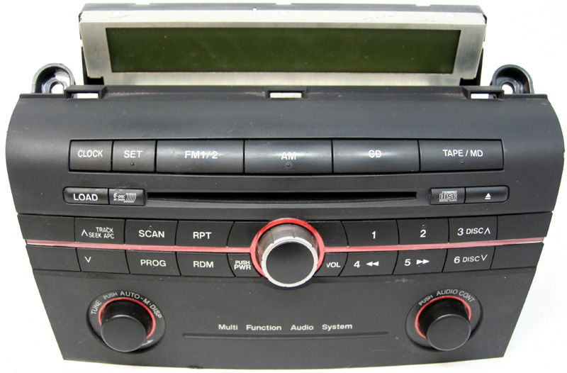 2004 Mazda 3 Factory Stereo 6 Disc Changer Cd Player Oem