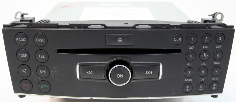 2008 mercedes benz c300 factory stereo single disc cd for Mercedes benz ml320 radio code