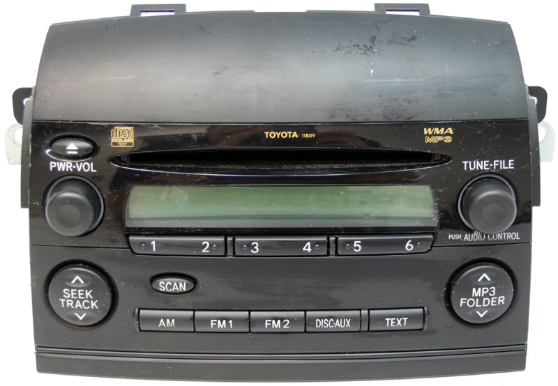 2006 Fm Mp3 Cd Player Oem