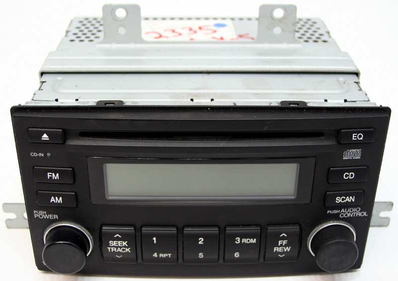 06 07 08 09 10 Hyundai Accent Factory Stereo Cd Player Oem