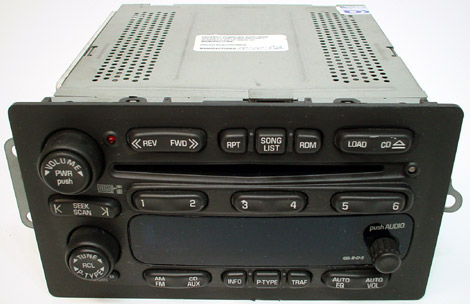2004 2007 buick rendezvous factory stereo 6 disc changer. Black Bedroom Furniture Sets. Home Design Ideas