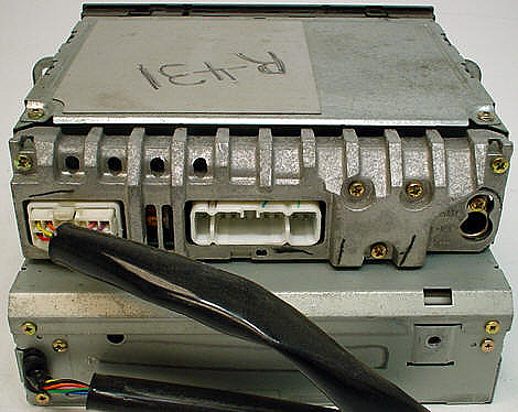Factory Stereo R 2359 detailed image 2 1998 2002 isuzu rodeo factory tape 6 disc cd player radio r 2359 2002 isuzu rodeo radio wiring diagram at eliteediting.co