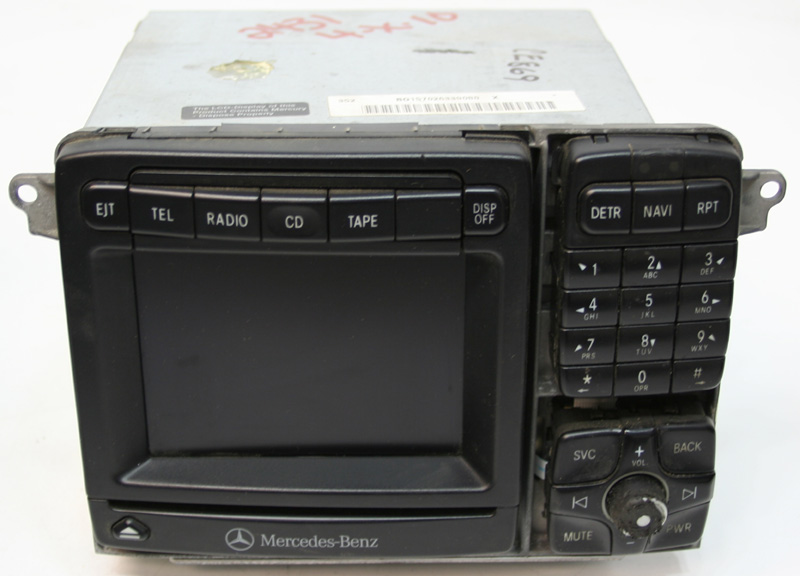 2002-2003 Mercedes S430 Factory Stereo Nav Navigation CD Player OEM Radio