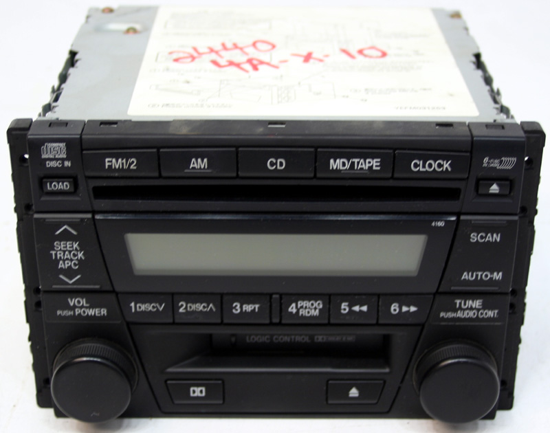 Factory Stereo R 2440 4 detailed image 1 2004 mazda rx8 factory stereo 6 disc changer cassette cd player bose