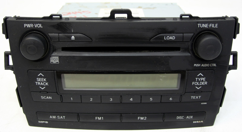 cd player toyota images