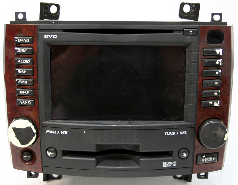 2007 Cadillac Cts Factory Stereo 6 Disc Cd Changer Nav
