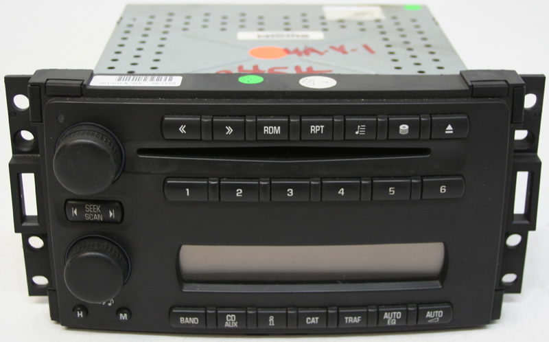 2005 2006 2007 saturn relay factory stereo 6 disc changer. Black Bedroom Furniture Sets. Home Design Ideas