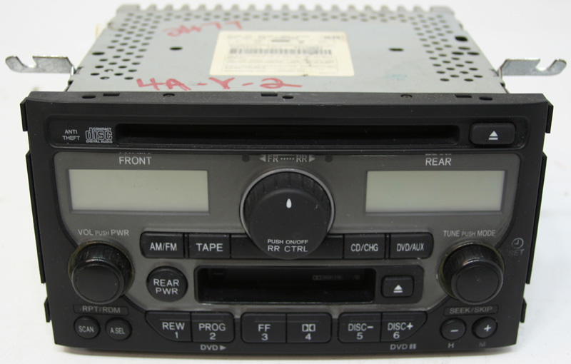 2003 2004 2005 honda pilot factory stereo cd player oem