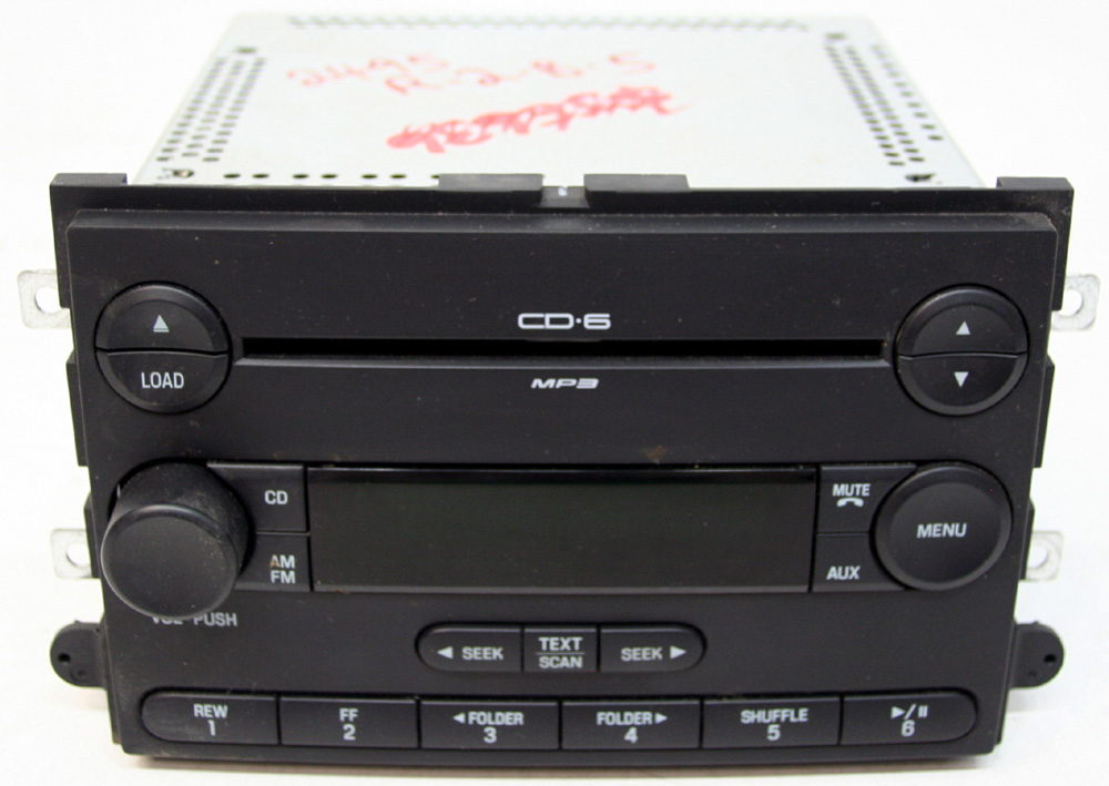 2007 2008 Ford F150 Factory Stereo 6 Disc Changer MP3 CD Player OEM Radio