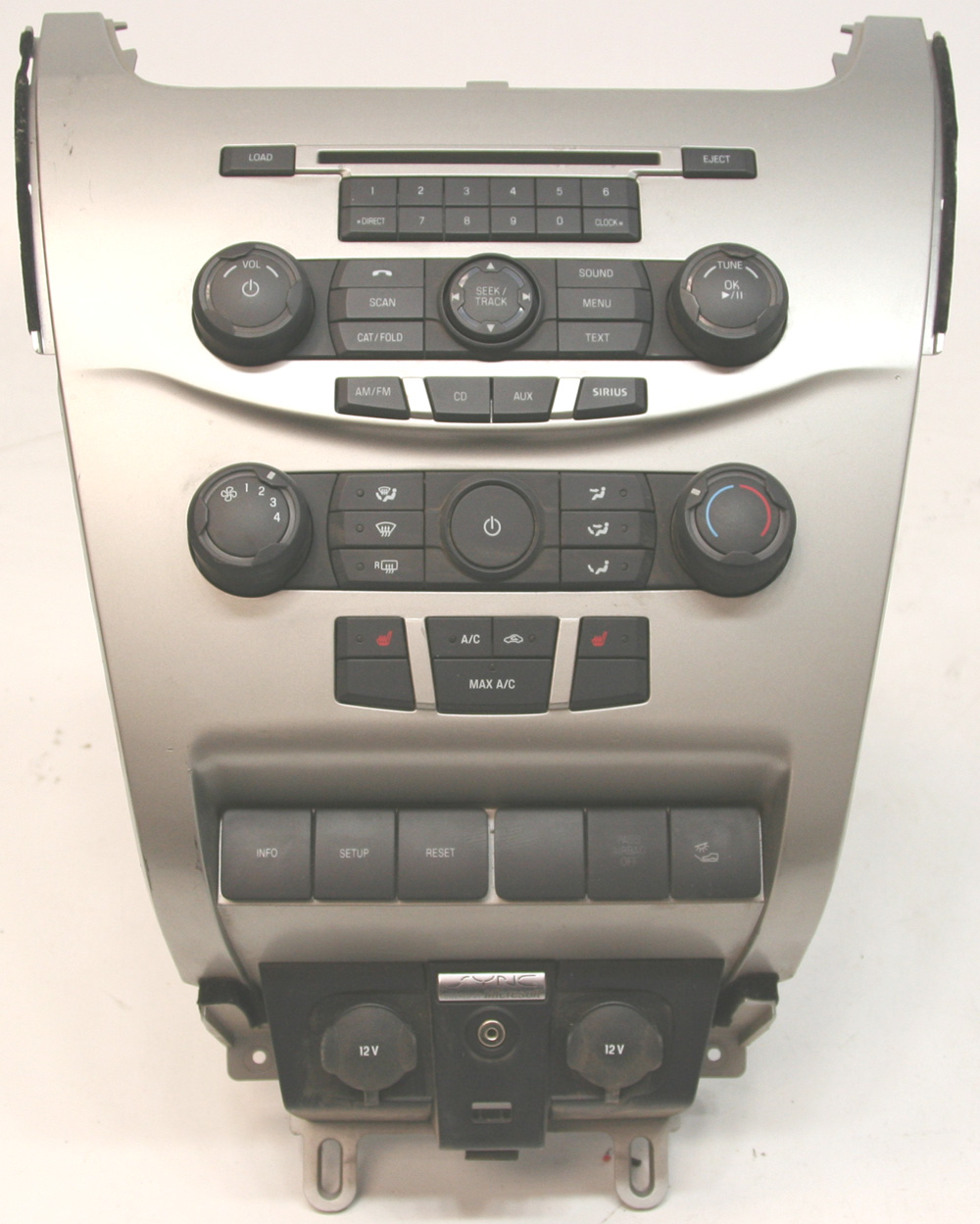 2009 ford focus factory stereo 6 disc changer cd player. Black Bedroom Furniture Sets. Home Design Ideas