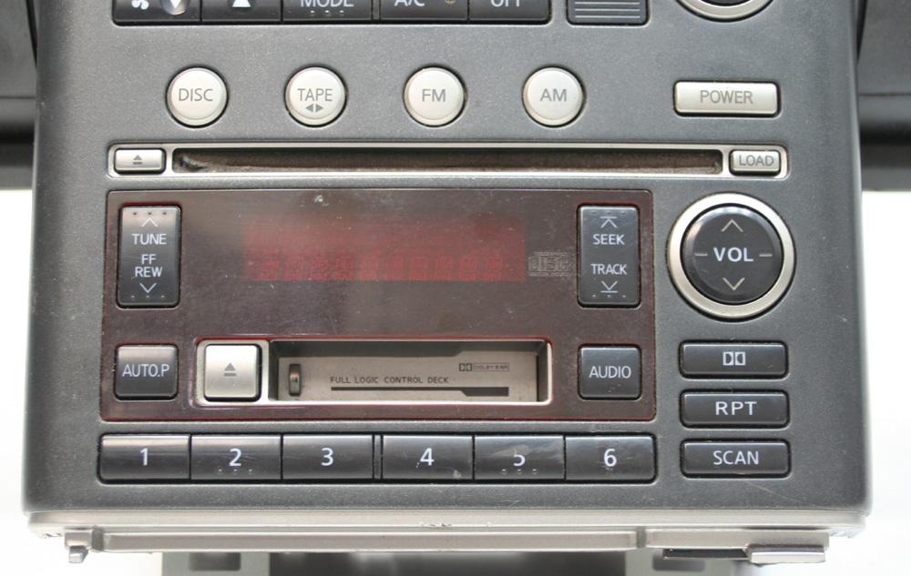 2003 Infiniti G35 Factory Stereo Tape 6 Disc Changer Cd Player Oem Rhhifisoundconnection: Infiniti G35 Factory Radio At Gmaili.net