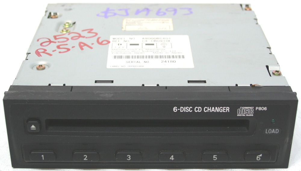 2000-2002 Mitsubishi Eclipse Factory 6 Disc Cd Changer For Factory Oem Radio
