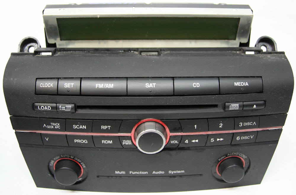 Mazda factory stereo disc changer cd player