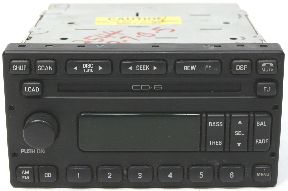 20012004 Ford Escape Factory Stereo 6 Disc Changer Cd Player Oem Rhhifisoundconnection: Ford Cd Changer Harness At Gmaili.net