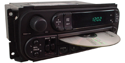 2001 2002 Dodge Durango Factory Stereo Cd Player Oem Radio W Changer Control R 2548 3