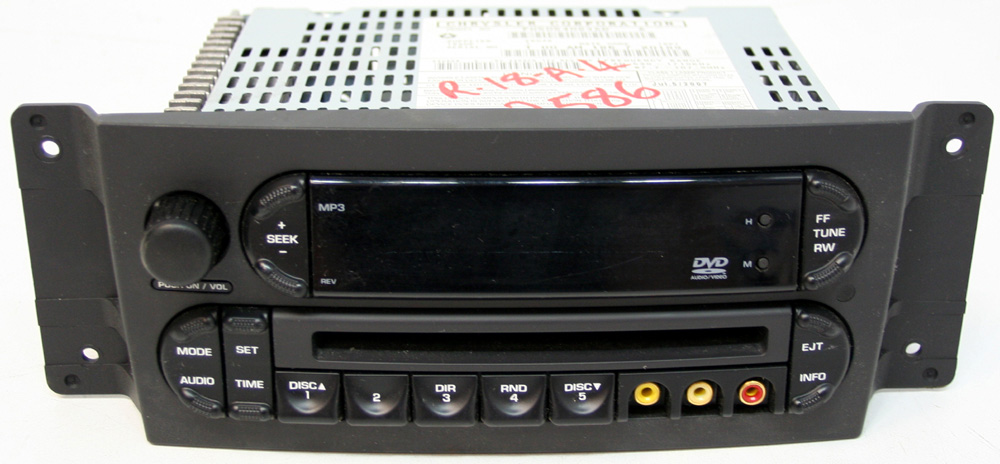 Factory Stereo R 2586 detailed image 1 pacifica wiring audio on pacifica download wirning diagrams Mercury Marauder Radio Harness at n-0.co