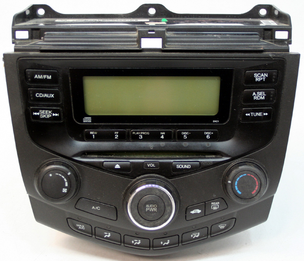 2003 Fm Cd Player Oem